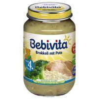 BEBIVITA Пюре броколи и пуешко месо 1730, 190 гр