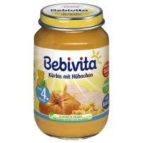 BEBIVITA Пюре тиква и пилешко месо 1732, 190 гр