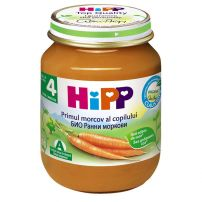 HIPP BIO Пюре ранни моркови 4010, 125 гр