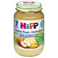 HIPP BIO Пюре плодов дует ябълка и манго с извара 6433, 160 гр