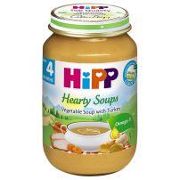 HIPP BIO Пюре зеленчукова супа с пуешко месо 7930, 190 гр