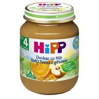 HIPP BIO Пюре тиква и ябълка 4243, 125 гр