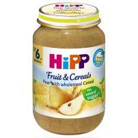 HIPP BIO Пюре пълнозърнеста каша от круша 4723, 190 гр