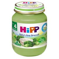 HIPP BIO Пюре броколи с ориз 4012, 125 гр