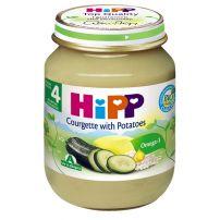 HIPP BIO Пюре тиквички и картофи 4022, 125 гр