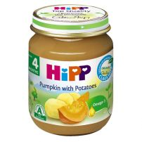 HIPP BIO Пюре тиква и картофи 4043, 125 гр