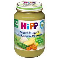 HIPP BIO Пюре различни зеленчуци 4070, 190 гр