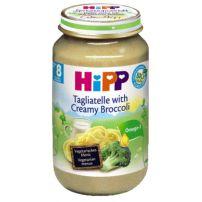 HIPP BIO Пюре талиатели, броколи и сметана 6403, 220 гр
