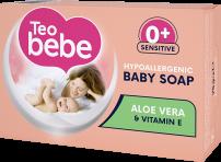 TEO BEBE HYPOALERGENIC Бебешки сапунALOE VERA, 75 гр.