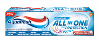 AQUAFRESH ALL IN ONE ORIGINAL Паста за зъби, 75мл