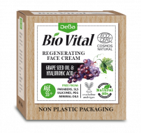 DEBA BIO VITAL  Регенериращ дневен крем за лице 55 + 50мл