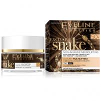 EVELINE EXCLUSIVE SNAKE Луксозен дневен концентриран крем за лице с лифтинг ефект 50+ 50 мл