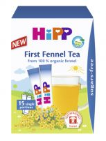 HIPP Био екстрактен чай с копър 3644, 15х0.36 гр.