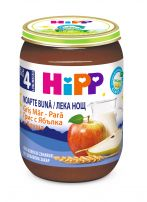 HIPP BIO  Млечна каша лека нощ грис с ябълки и круши 5511, 190 гр.