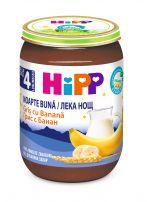 HIPP BIO  Млечна каша лека нощ грис и банани 5512, 190 гр.