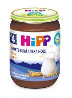 HIPP BIO  Млечна каша лека нощ грис 5515, 190 гр.