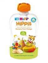 HIPP HIPPIS Био плодова закуска банан, круша и манго 8523, 100 гр.