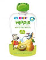 HIPP HIPPIS Био плодова закуска круша, банан и киви 8527, 100 гр.