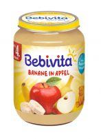 BEBIVITA Пюре ябълка и банан 1001, 190 гр.
