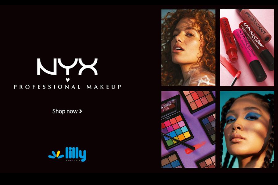 Открийте козметика NYX в обектите на Лили Дрогерие